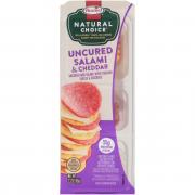 Hormel Natural Choice Uncured Salami & Cheddar Snack