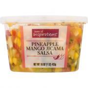 Taste of Inspirations Pineapple Mango Jicama Salsa
