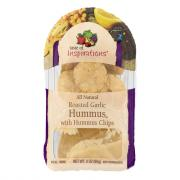 Taste of Inspirations Garlic Hummus with Hummus Chips