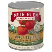 Muir Glen Organic Whole Peeled Plum Tomatoes
