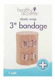"Healthy Accents 3"" Elastic Bandage"