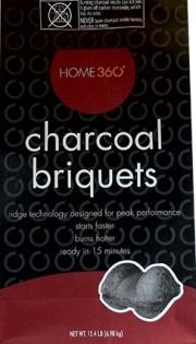 Home 360 Charcoal Briquets
