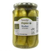 Nature's Place Organic Kosher Pickle Spears