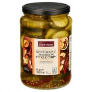 Taste of Inspirations Spicy Maple Bourbon Pickle Chips