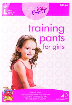 Home 360 Baby Large Girl's Mega Training Pants