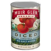 Muir Glen Organic No Salt Diced Tomatoes