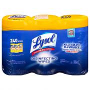 Lysol Disinfecting Wipes Lemon & Lime Blossom