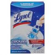 Lysol Click Gel Automatic Toilet Bowl Cleaner Atlantic Fresh