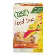 True Lemon Peach Iced Tea Sticks
