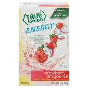 True Lemon Energy Strawberry Dragonfruit Sticks