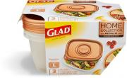 Glad Deep Dish Large Rectangle Container Copper