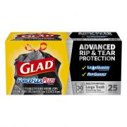 Glad 30-Gallon Forceflex Drawstring Trash Bags