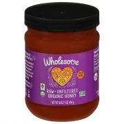 Wholesome Sweeteners Organic Raw Honey