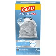 Glad 13-Gallon Odor Shield Forceflex Tall Kitchen