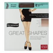 No nonsense Great Shapes Suntan Size C