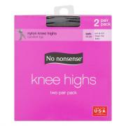 No nonsense Off Black Knee Highs