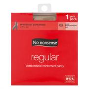No nonsense Queen Size Regular Nude Pantyhose