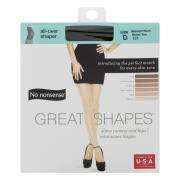No nonsense Great Shapes Sheer Toe Midnight Black