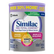 Similac Pro-Total Comfort Infant Formula Powder Tub