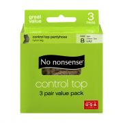 No nonsense Tan Control Top Size-B