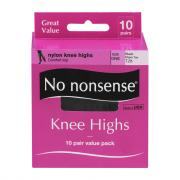 No nonsense Black Knee Highs