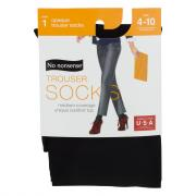 No nonsense Silky Opaque Trouser Socks Size 4-10