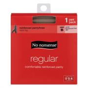 No nonsense Medium/Tall Size Regular Nude Pantyhose