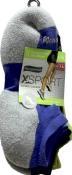 No Nonsense X-sport No Show Assorted Double Cushion Socks