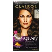 Clairol Age Defy Medium Brown 5 Permanent Hair Color