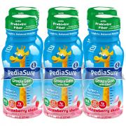 PediaSure w/Fiber Strawberry Shakes