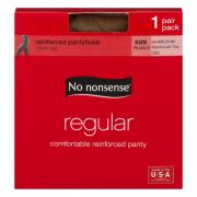 No nonsense Queen Size Regular Tan Pantyhose
