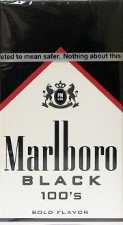 Marlboro Special Blend 100's Black Box Cigarettes
