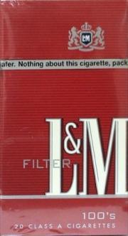 L&M Full Flavor 100's Box Cigarettes