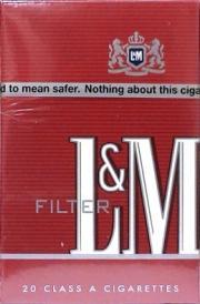 L&M Non-Menthol King Box Pack Cigarettes