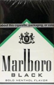 Marlboro Special Blend Black Box Cigarettes