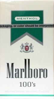 Marlboro Ultra Menthol 100's Box Cigarettes