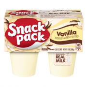 Snack Pack Vanilla Pudding Cups