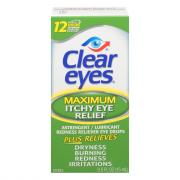 Clear Eyes Maximum Itchy Eye Relief