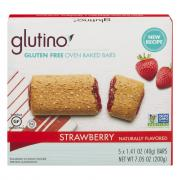 Glutino Gluten Free Oven Baked Bars Strawberry