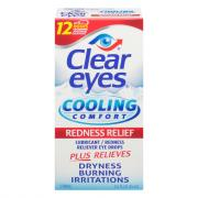 Clear Eyes Cooling Comfort Redness Relief