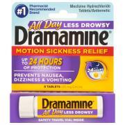 Dramamine Less Drowsey Formula