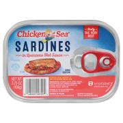 Chicken of the Sea Sardines in Louisiana Hot Sauce