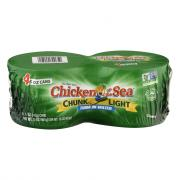 Chicken of the Sea Chunk Light Tuna in Water 4 Pack