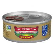 Genova Yellowfin Tuna in Water With Sea Salt