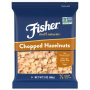 Fisher Chef's Natural Hazelnuts Chopped