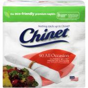 Chinet All Occasion Classic White Premium Napkins