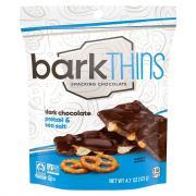 Bark Thins Dark chocolate Pretzel With Sea Salt
