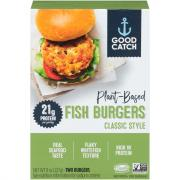 Good Catch Plant Based Fish Burgers