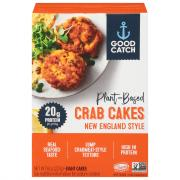 Good Catch Plant Based New England Style Crab Cakes