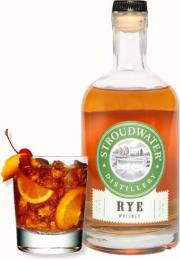 Stroudwater Distillery Rye Whiskey